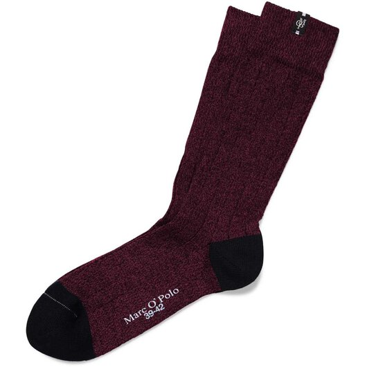 Herren Socke Business (Bordeaux melange)
