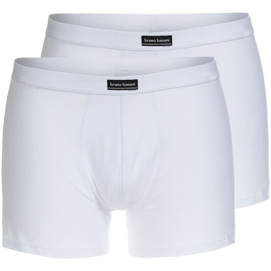 2-Pack Retroshorts Cotton Simply, (Weiß)