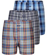 3-Pack Boxershorts Authentics (Rot/Blau)