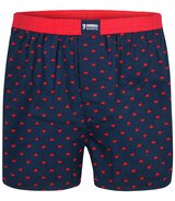 2-Pack Trunks Cotton Stretch (Navy/Rot) L
