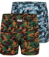 2-Pack Boxershorts Camouflage  L