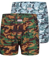 2-Pack Boxershorts Camouflage (Dry Aged) L