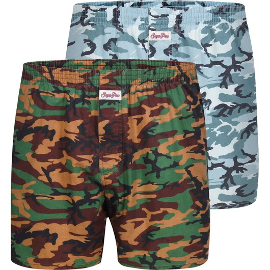 2-Pack Boxershorts Camouflage (Dry Aged)