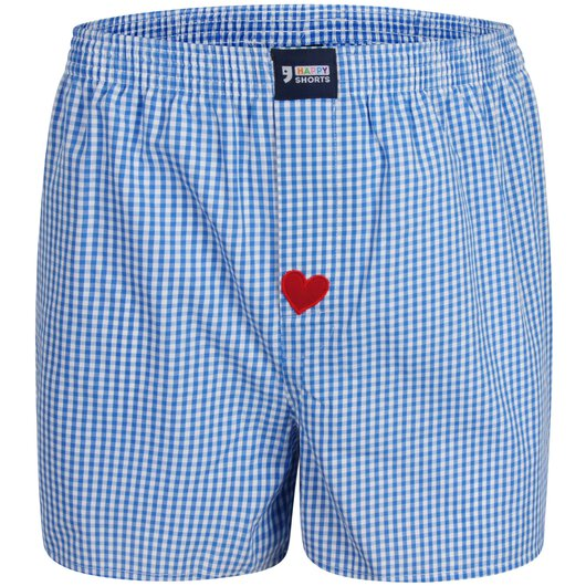 Boxershorts Check with Heart