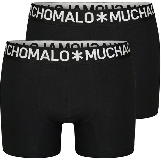 2-Pack Shorts Solid (Black)