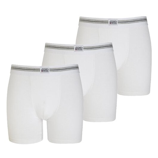 3-Pack Retroshorts Trunk (Weiß)