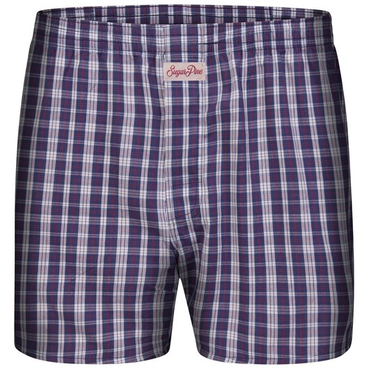 Sugar Pine - Mens woven boxershorts - loose fit - classic patterns - made from 100% cotton (2000-SPC-8104)