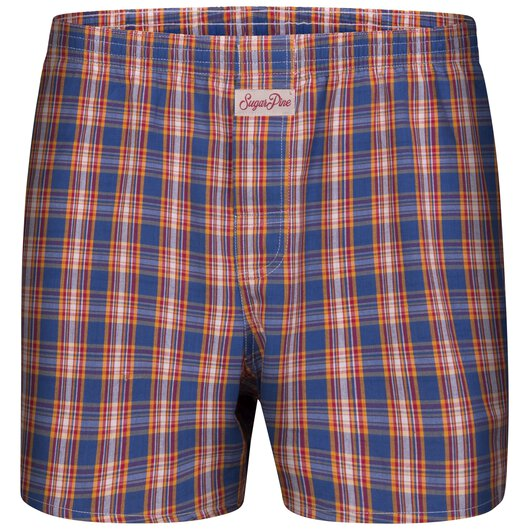 Sugar Pine - Mens woven boxershorts - loose fit - classic patterns - made from 100% cotton (2000-SPC-8105)