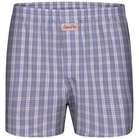 Sugar Pine - Mens woven boxershorts - loose fit - classic patterns - made from 100% cotton (2000-SPC-8106)