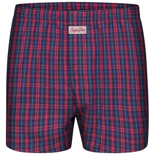 Sugar Pine - Mens woven boxershorts - loose fit - classic patterns - made from 100% cotton (2000-SPC-8107)