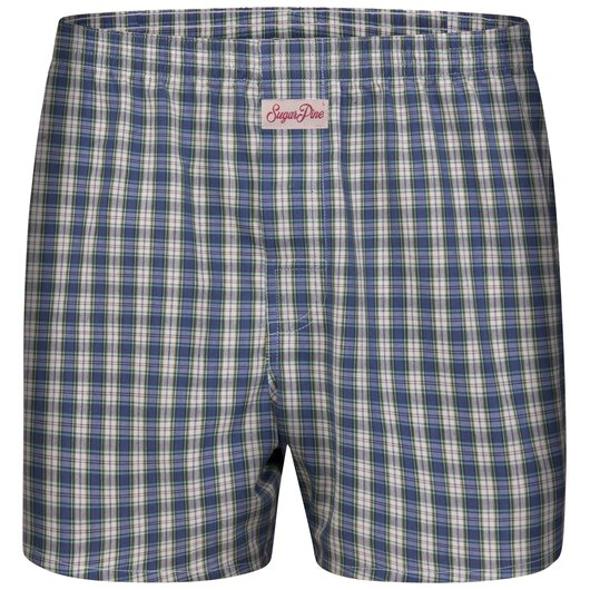 Sugar Pine - Mens woven boxershorts - loose fit - classic patterns - made from 100% cotton (2000-SPC-8108)