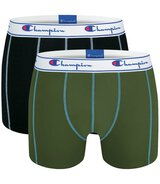 2-Pack Trunks (Khaki/Schwarz) XXL