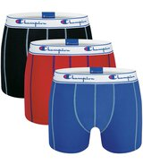 3-Pack Trunks (Schwarz/Rot/Blau) XL