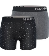 2-Pack Trunks Black&White Dots