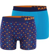 2-Pack Trunks Dots (Orange/Blau)