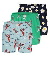 3-Pack Boxershorts Motive L