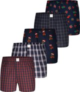 5-Pack Boxershorts X-mas (Set 2) XL