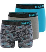 3-Pack Trunks Camouflage Aqua